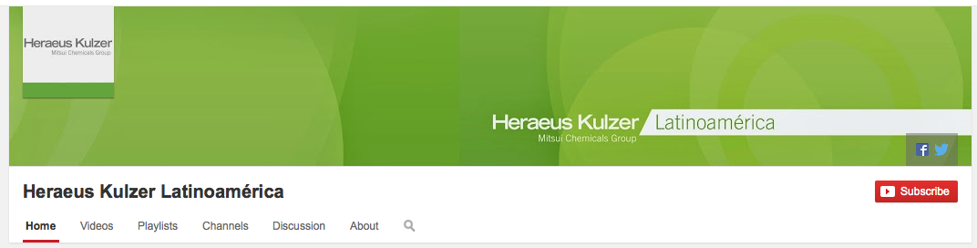 Heraus YouTube Channel